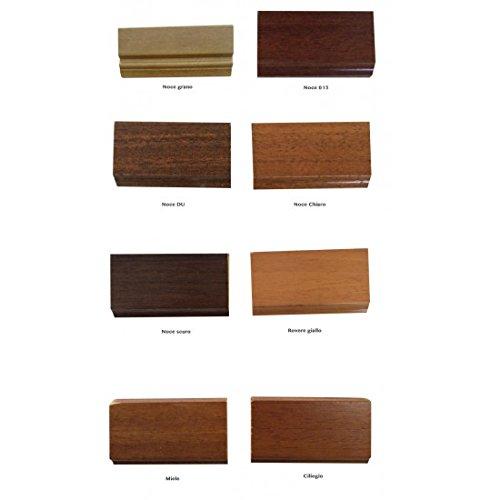 Tavolo legno allungabile rotondo gambo liscio 120 come - Tavolo allungabile granada a1 ...