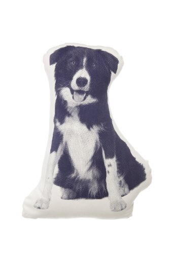Kissen Fauna mini Boarder Collie navyblue