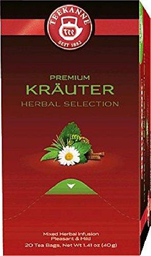 Feinste Kräuter (TEEKANNE Feinste Kräuter Tee/6252, wohltuend mild, Inh. 20)