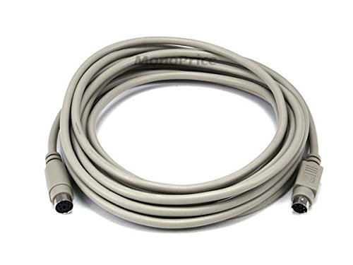 15ft PS/2 MDIN-6 Male to Female Cable