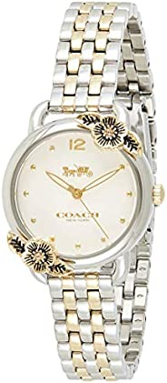 Coach Women's Chalk Dial Two Tone Stainless Steel Watch - 1450
