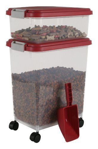 iris-airtight-pet-food-container-combo-kit-garnet-red-gray-by-iris-usa