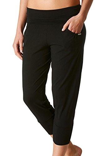 Mey loungewear «mey lounge pantalon de sport pour femme 7/8 16324 long Diamant noir