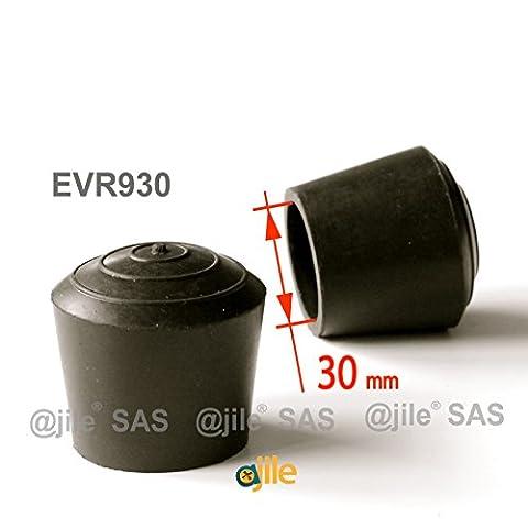 ajile - 4 pièces - Embout enveloppant rond en caoutchouc