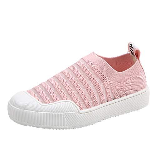 Sandalen für Kinder Weben Schuhe Stretchgewebe Mesh Atmungsaktiv Sportschuhe Freizeit Krabbelschuhe mit Weiche Sohle Solide Slip-On Sneaker (Sneaker Shaper)
