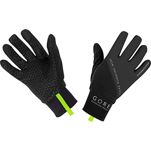 Gore Running Wear Fusion Windstopper - Guantes para mujer, color negro, talla M