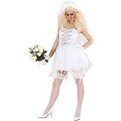 WIDMANN 8725b adultos Disfraz Zombie novia, 48