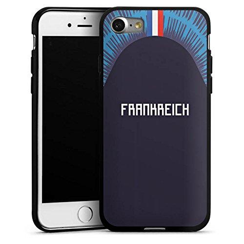 DeinDesign Apple iPhone 7 Silikon Hülle Case Schutzhülle Frankreich Trikot Wm