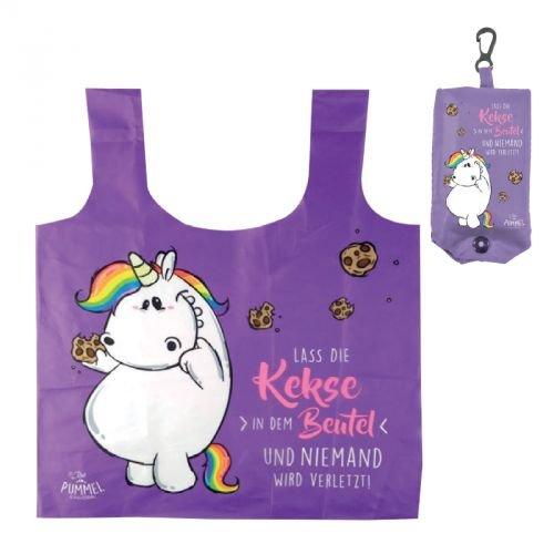 Pummeleinhorn Shopping Bag - Kekse im Beutel (lila)