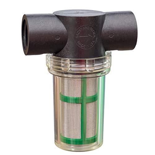 Backyard Flock Inline-Sieb Wasser Filter, 100Mesh Bildschirm Element, ½ weiblich in/Out, PVC Fittings Enthalten. (Made in USA) Long Filter - 100-mesh-sieb