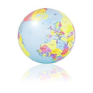 PI-PE Strandball Wasserball - Tolle Motive - 29 cm (Erde)