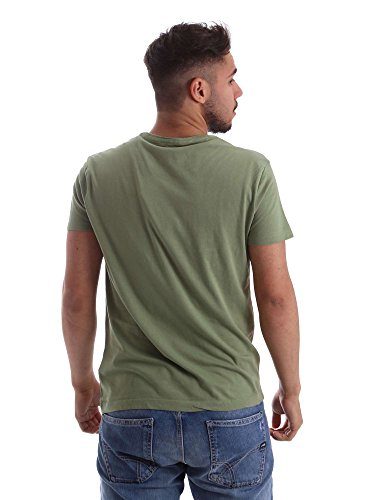 Gas Jeans Herren T-Shirt Scuba Waves Verde