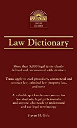 Barron's Law Dictionary (Barron's Legal Guides) by Steven H. Gifis (2016-09-01)