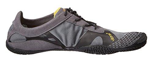 Vibram FiveFingers KSO Evo Men–Set–Allround orteils Chaussures/bar Chaussures pieds avec chaussettes orteils gris/noir