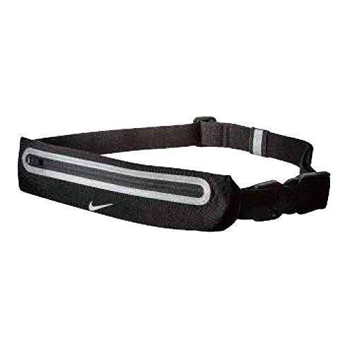 nike expandable running lean waistpack fascia portaoggetti black