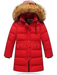 Manteau Epais Tres Chaud Enfant Fille Hiver Sweat A Capuche Veste Ski  VêTements De BéBé Chic Mode Manteaux Blouson Doudoune Hooded… df15b7a919cc
