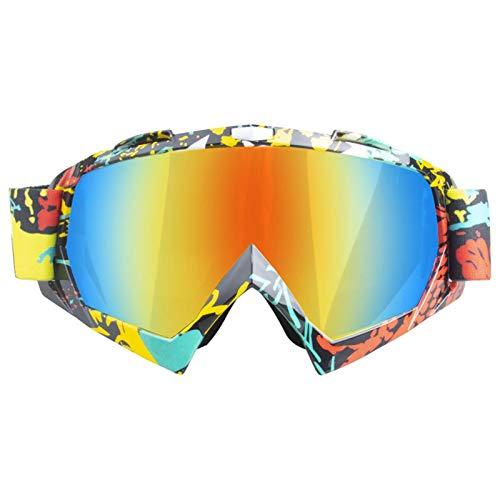 Blisfille Gafas Protectoras Caza Gafas Moto Sobre