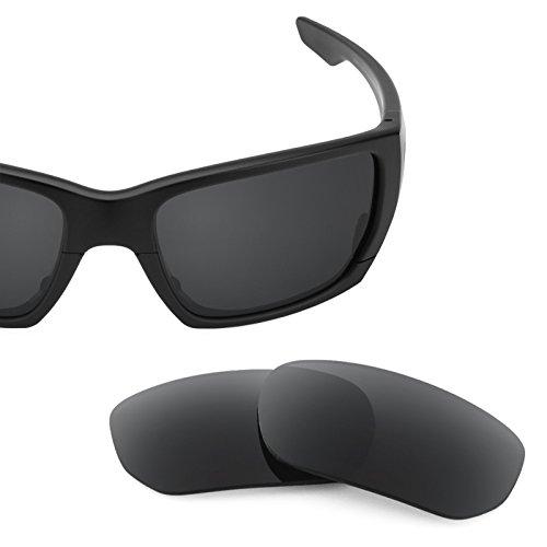 Verres de rechange pour Oakley Style Switch — Plusieurs options Noir - Polarisés