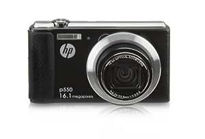 HP HP P-550 Appareil photo numérique 16 Mpix Zoom optique 12,5 x Noir