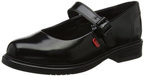 Kickers Damen Lachly Patent Mary Jane Halbschuhe Schwarz (Black 0001) 38 EU Patent Mary Jane Schuhe