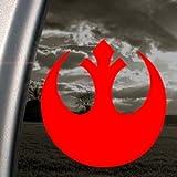Ritrama - Adesivo per finestrino Camion, Motivo: Star Wars: Alleanza Ribelle, Colore: Rosso