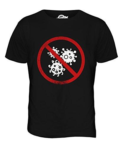 CandyMix Mysophobie Herren T Shirt Schwarz