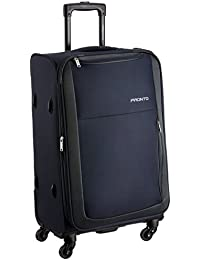 PRONTO Paris Polyester 78 cms Blue Suitcase (6455 - BL)