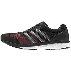 adidas Adizero Boston 5 M, Zapatillas de Running para Hombre, Negro/Gris / Blanco (Negbas/Plamet / Ftwbla), 39 1/3 EU