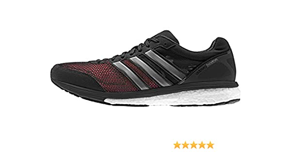 on sale e883d 55b9b adidas Herren Adizero Boston 5 M Laufschuhe, SchwarzGrauWeiß (NegbasPlametFtwbla)  48 EU Amazon.de Schuhe  Handtaschen