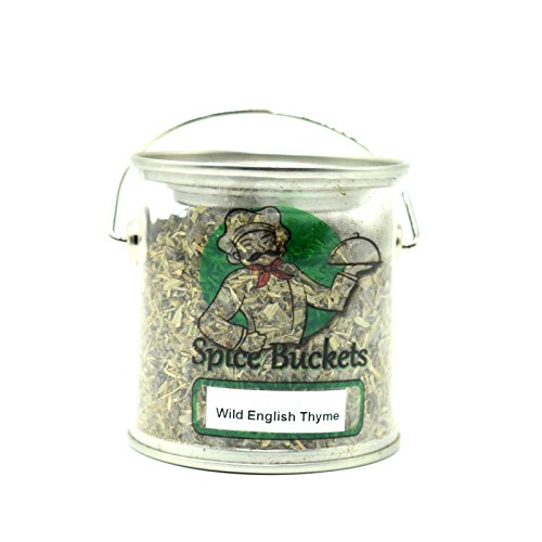 Wild Englisch Thymian 20g in Spice Rack Bucket Free UK Post 20 Jar Spice Rack