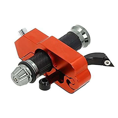Throttle-brake lock Kawasaki ZX-9R orange