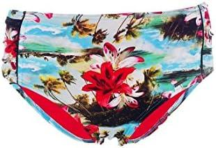 Bas de maillot de bain Banana Moon Culotte Haute Mahalo Vilta Turquoise