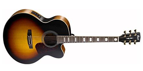 CORT COCJ3V-TAB Super Jumbo Cutaway Elektro-Akustische Gitarre