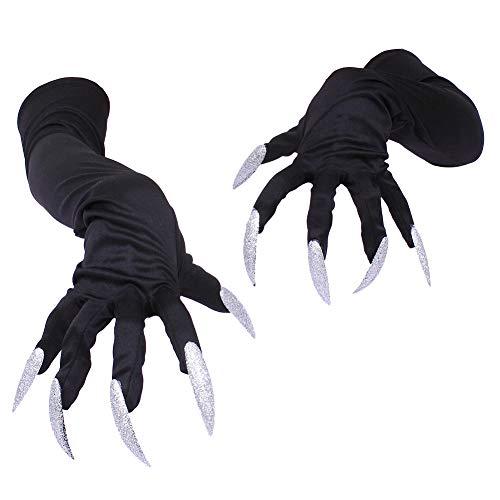 Demarkt Halloween Handschuhe mit Lange Fingernägel