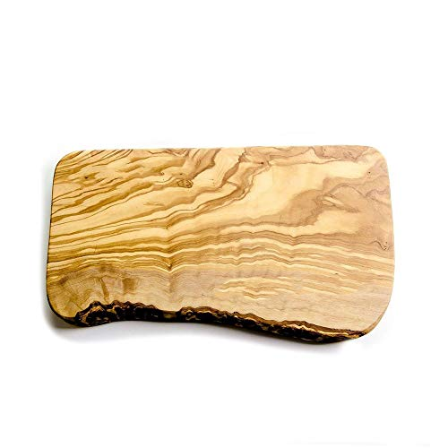 Rustic Olive Wood Chopping / Serving / Cheese Board - 30x15x2cm