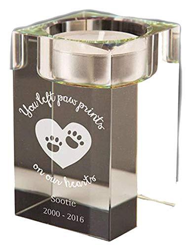 Cellini candles Gedenktafel für Hunde, Personalisierbar