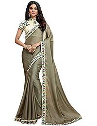 Boda del diseñador étnico Indio Tradicional 100% Original Saree Sari Vestido de Las Mujeres del