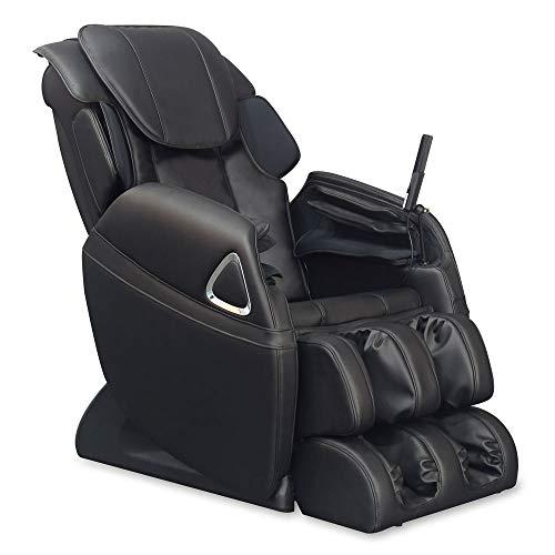aktivshop Massagesessel Holiday Fernsehsessel Entspannungssessel Relaxsessel mit Shiatsu-Massage & Wärmefunktion (Schwarz)