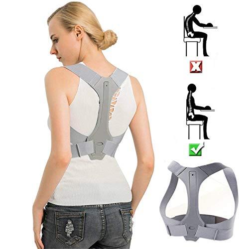 CFX Geradehalter zur Haltungskorrektur, Schulter Rücken Haltungsbandage Verstellbare, Rücken Geradehalter Corrector Posture Haltungstrainer für Damen und Herren