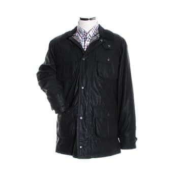 b93c1ea342649 Barbour Carbon Finish Utility - Black - S: Amazon.co.uk: Clothing