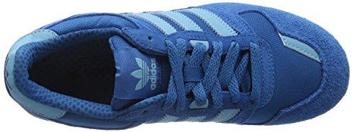 adidas Zx 700, Scarpe da Ginnastica Basse Unisex – Adulto Blu (Utility Blue/Vapour Blue/Ftwr White)