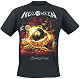 Helloween Tour Collage T-Shirt schwarz 3XL