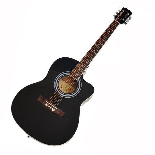 Ts ideen 5269 guitare acoustique avec manche en bois de for Ts ideen