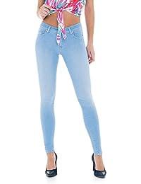 Salsa - Pantalons skinny denim clair - Colette - Femme
