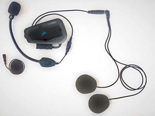 Cardo FREECOM 2 Plus – Motorrad 2-Wege Bluetooth Kommunikationssystem mit HD Audio für Fahrer zu Rider (Doppelpack) - 3
