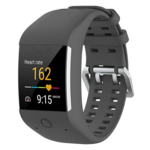 KOBWA Polar M600 Uhrenarmband, Silikon Ersatz Armband Wrist Band Sport Armband für Polar M600 Fitness Tracker
