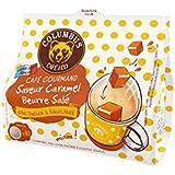 Columbus Café & Co Espresso Gourmand Saveur Caramel Beurre Salé 10 Dosettes Souples Compatibles Machines à Dosette...