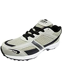 PORT Mens Rubber Spike Sports Cricket Stud Shoes