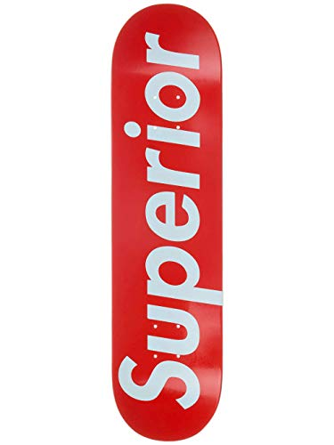 Superior Skateboard Deck Supreme Knockoff 8.0