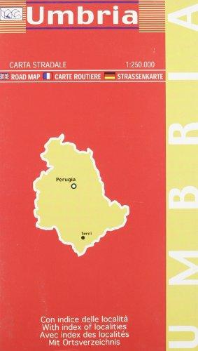 Umbria 1:250.000 (Carte stradali)